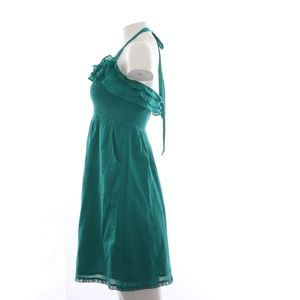 Maeve Dresses - Maeve Halter Top Mini Dress Green S